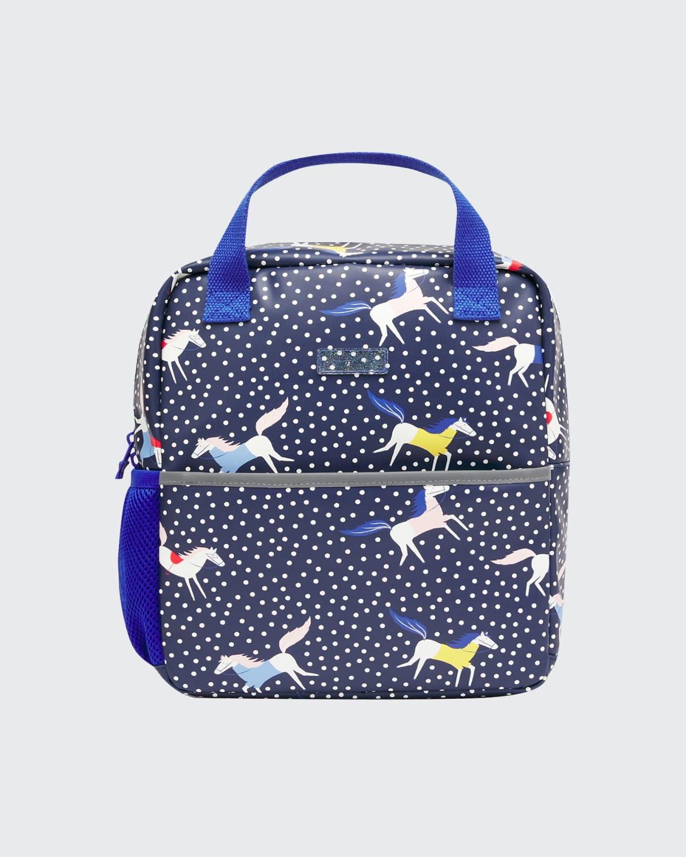 Adventure Navy Horse Backpack