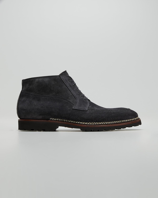 Men's Suede Norwegian Chukka Boots