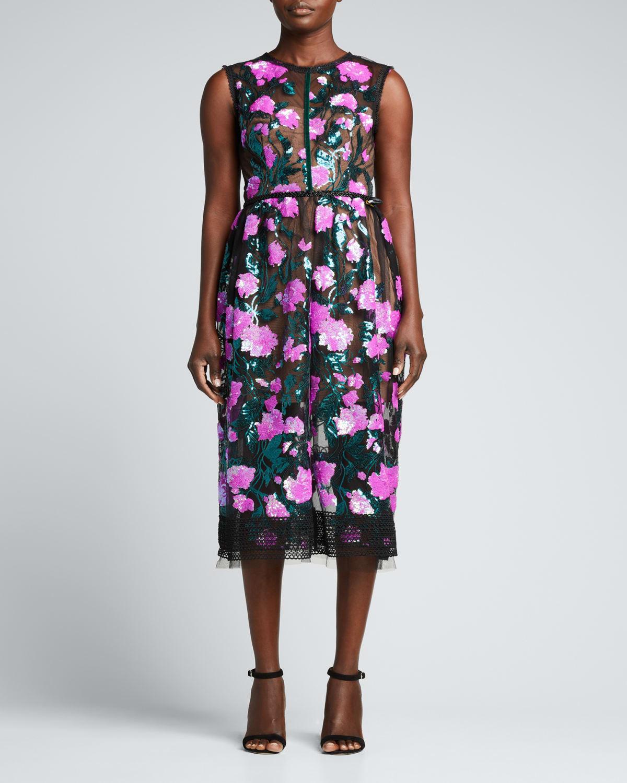 Rafaella Sleeveless Midi Dress