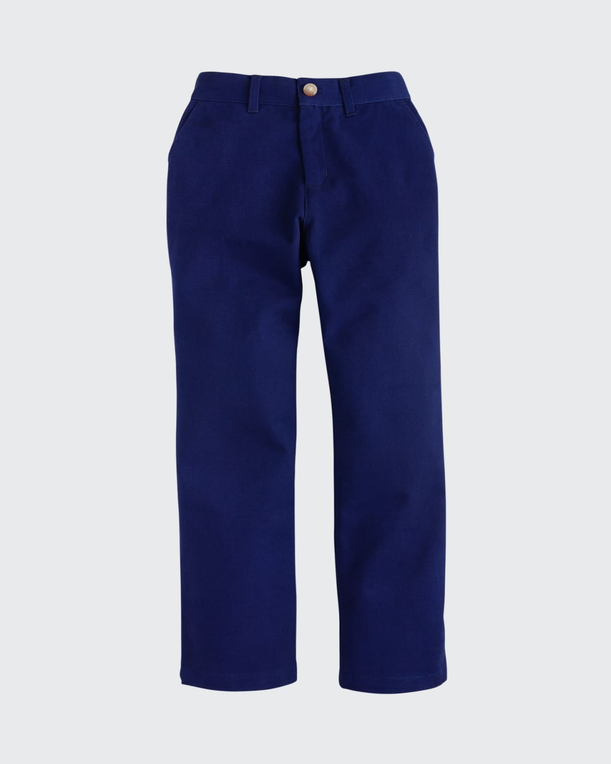 Boy's Solid Cotton Twill Pants