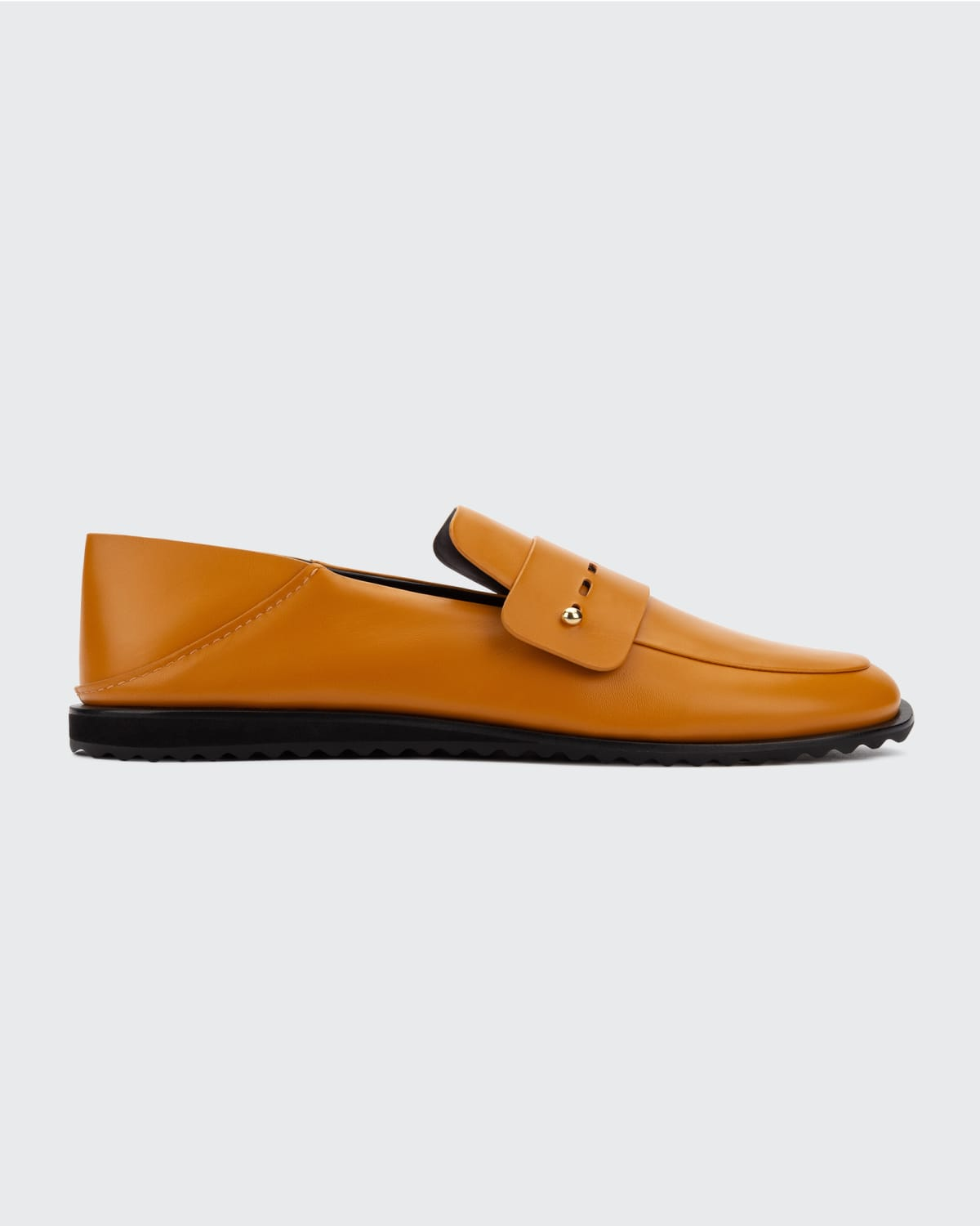 Fredia Stepdown Leather Loafers