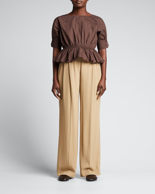 Dina Ruffle Shirt
