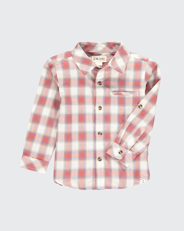 Boys' Atwood Plaid Woven Shirt