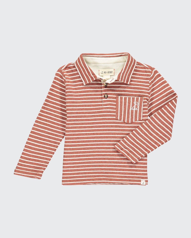Boys' Kenton Long-Sleeve Polo