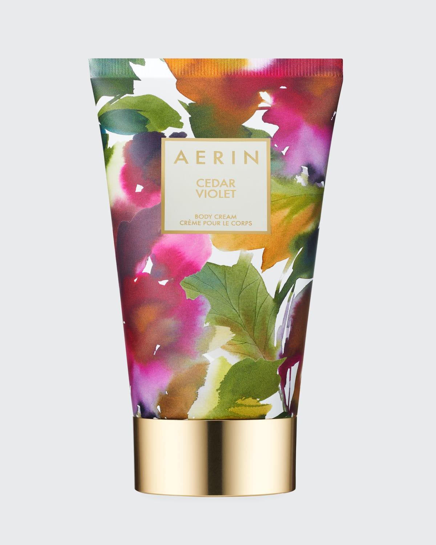 5 oz. Cedar Violet Body Cream