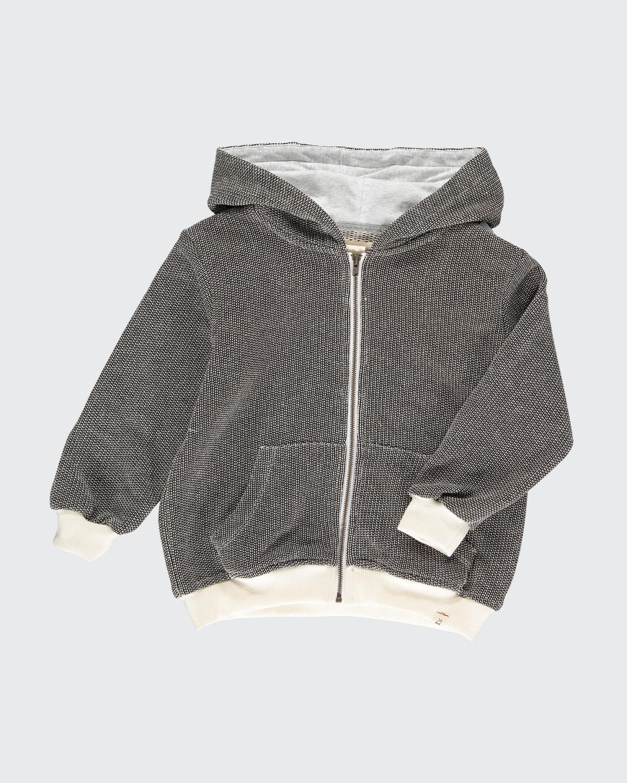 Boys' Parsons Zipped Hooded Soft Jacket