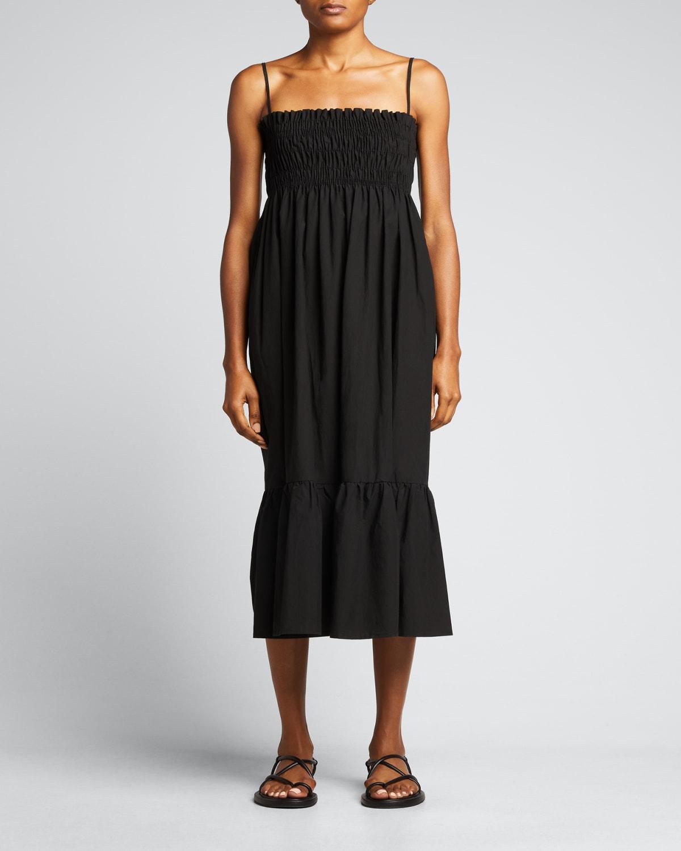 Umbria Smocked Midi Dress