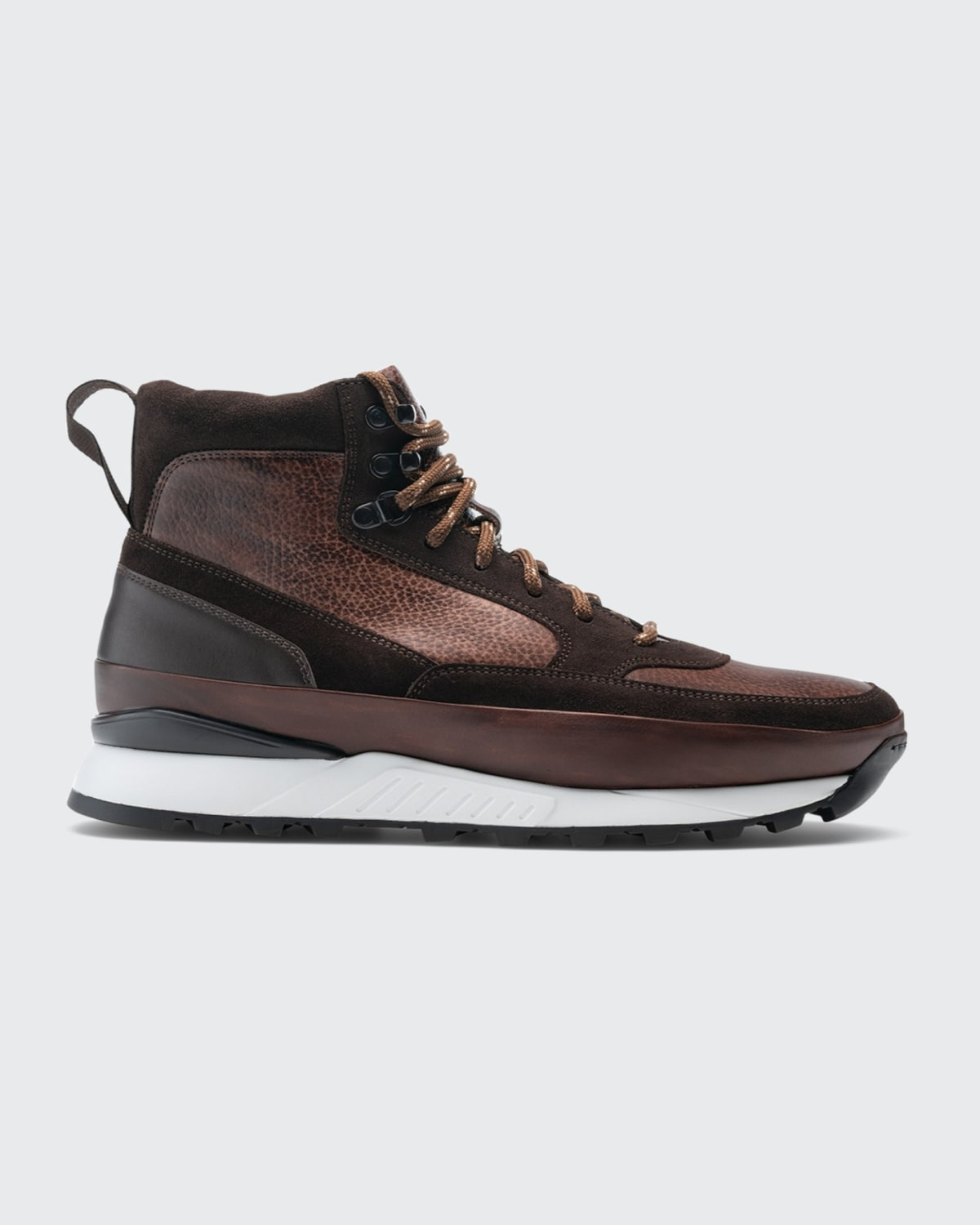 Men's Bodhi Leather & Suede Sneaker Boots