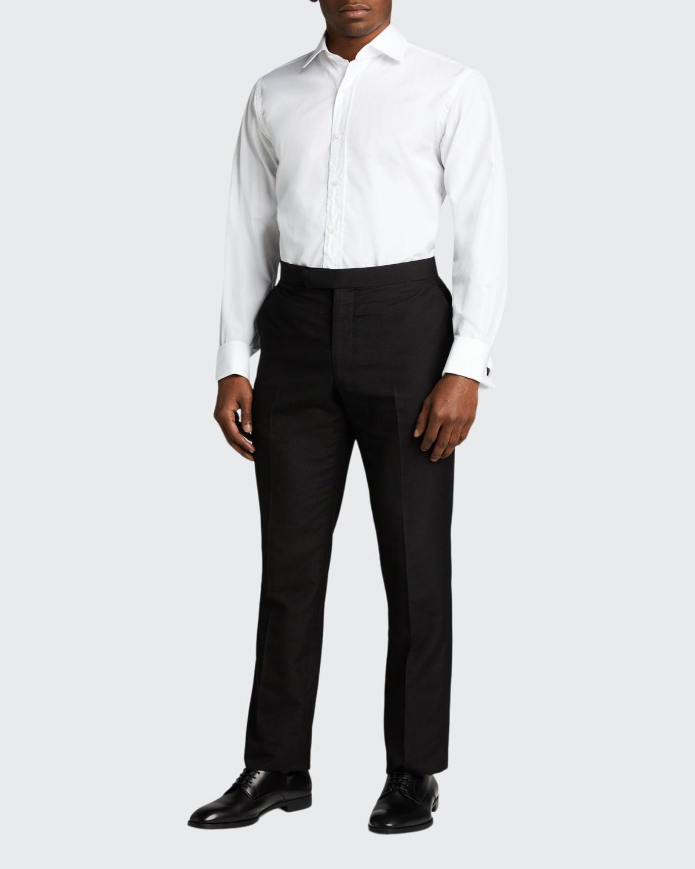 Men's Solid Poplin Sport Shirt