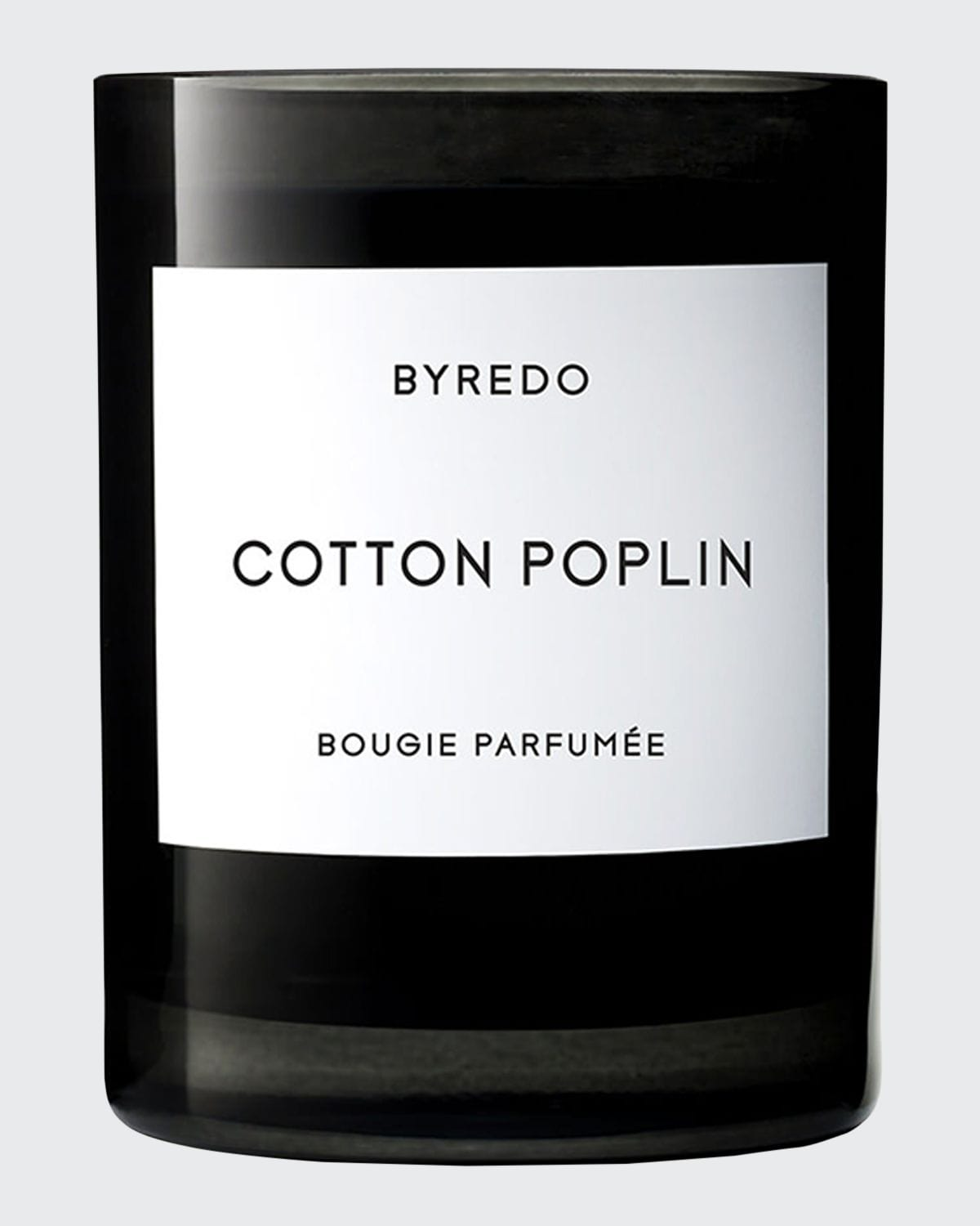 Cotton Poplin Bougie Parfumee Scented Candle