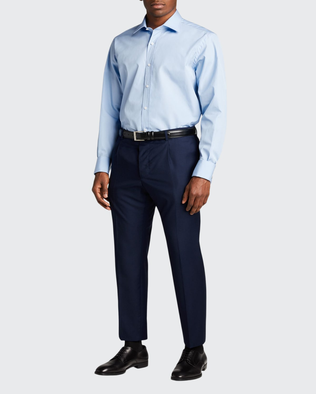 Men's Poplin French-Cuff Dress Shirt