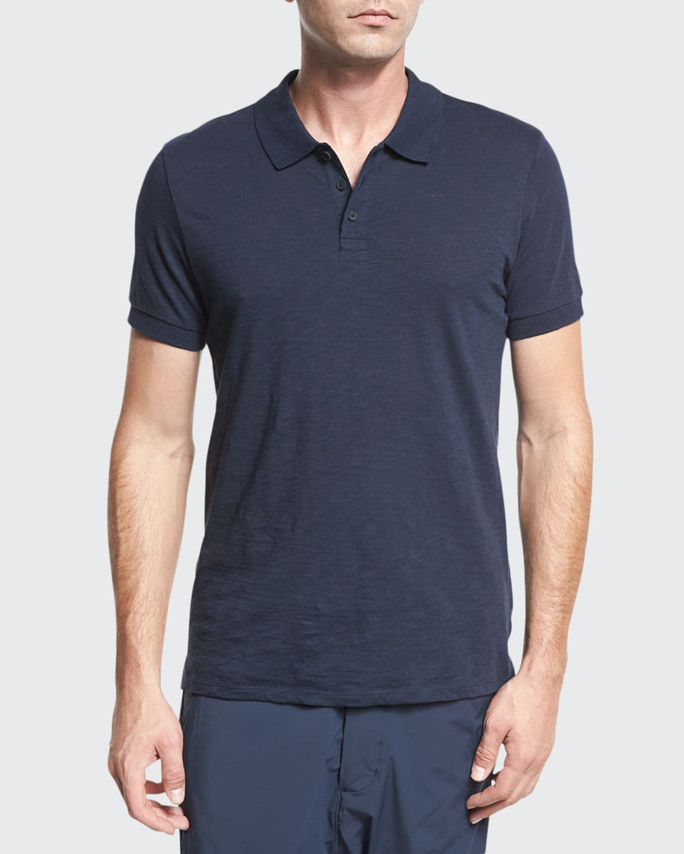 Classic Slub Cotton Polo Shirt