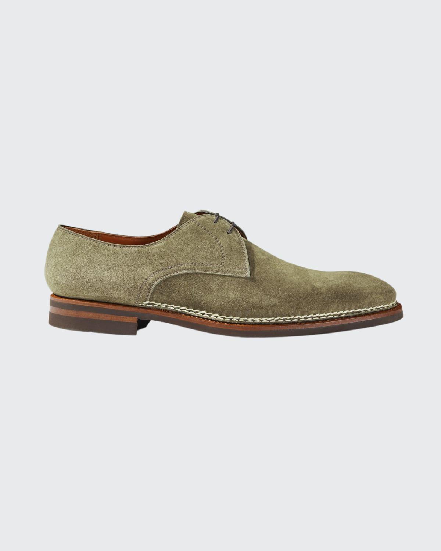 Men's Carnera Suede Lace-Up Shoes