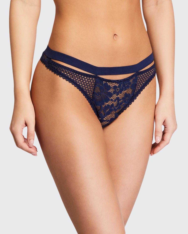 Petunia Sporty Lace Thong