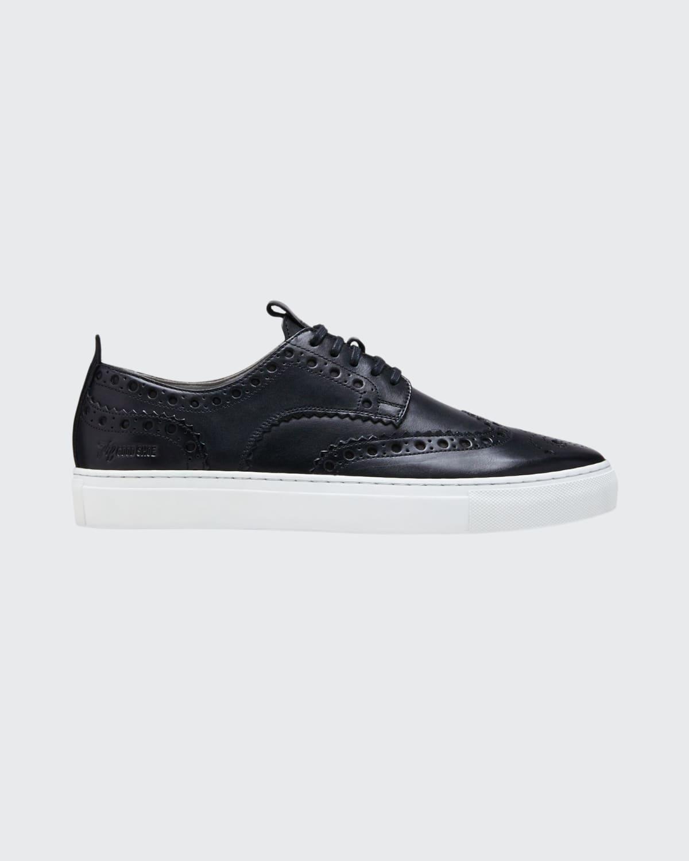 Men's Brogue Leather Sneakers