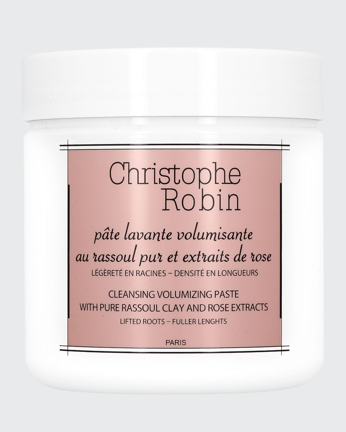 Cleansing and Volumizing Paste with Rhassoul and Rose Extracts