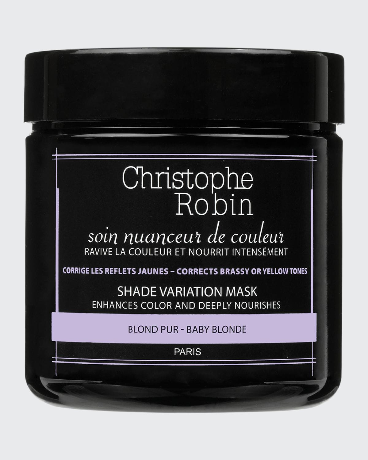 Shade Variation Care Nutritive Mask with Temporary Coloring