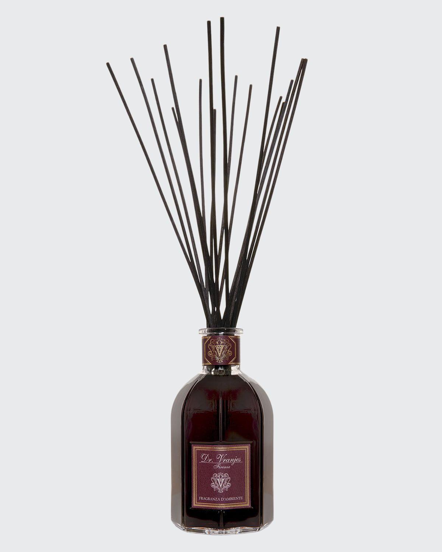 Rosso Nobile Vase Glass Bottle Collection Fragrance