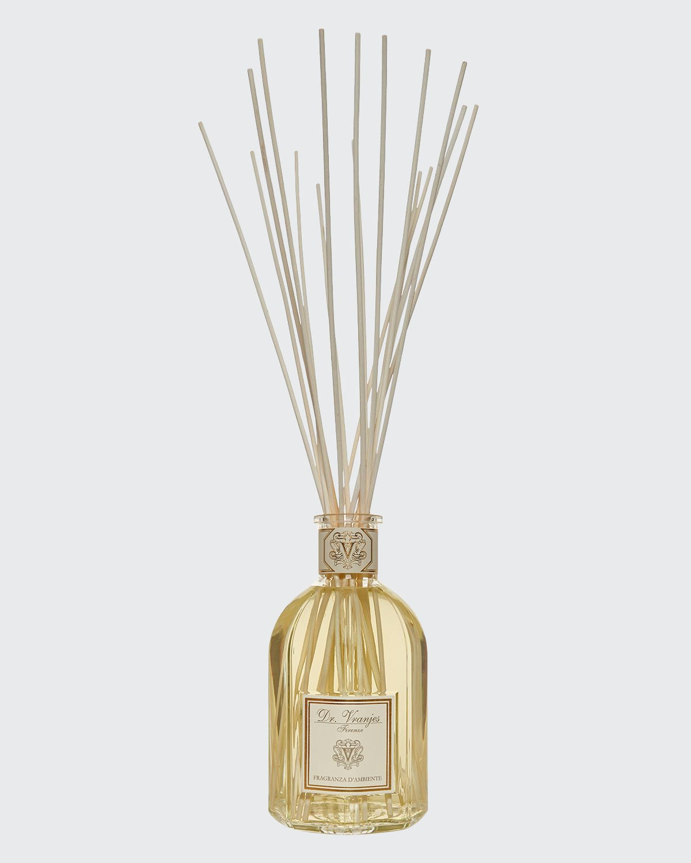 Ginger Lime Vase Glass Bottle Home Fragrance
