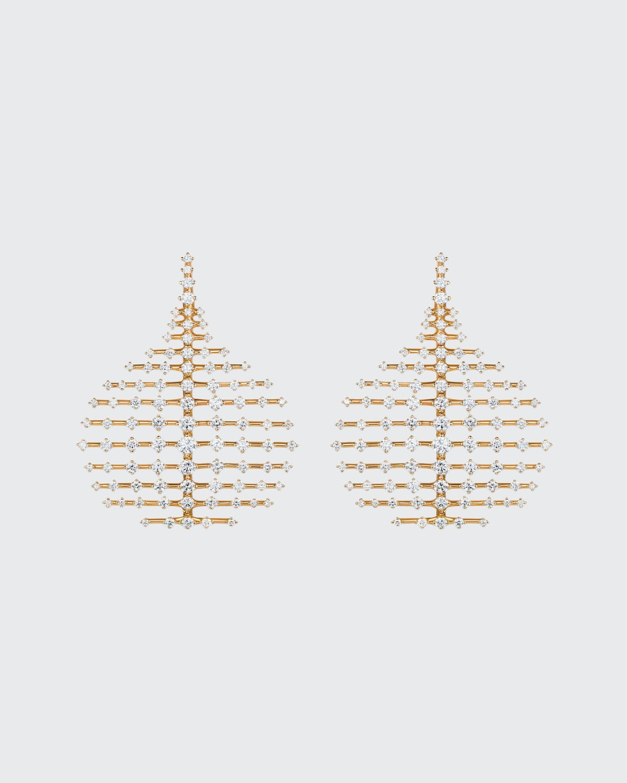 Small Disco 18k Diamond Earrings