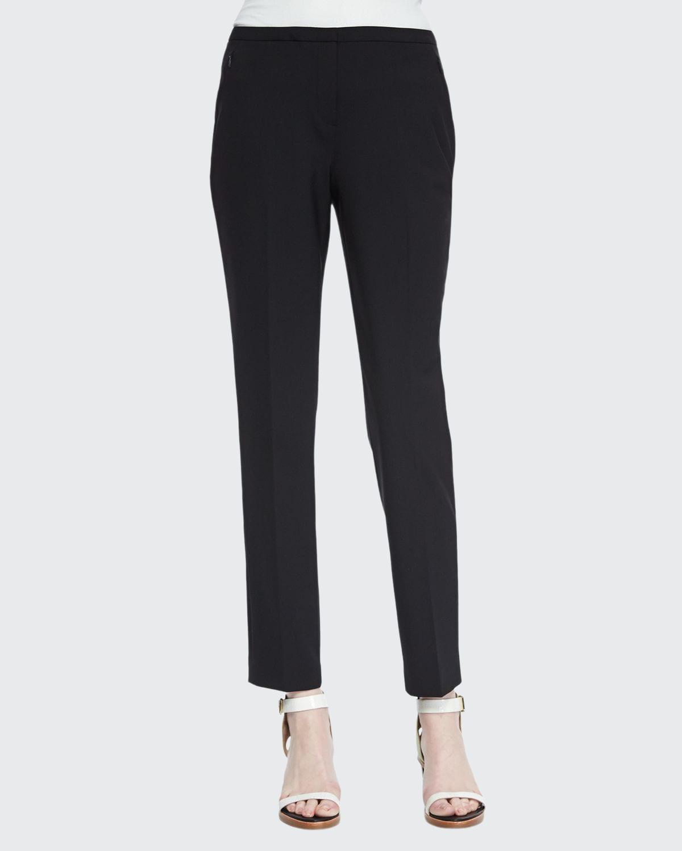 Jillian Slim Wool Pants