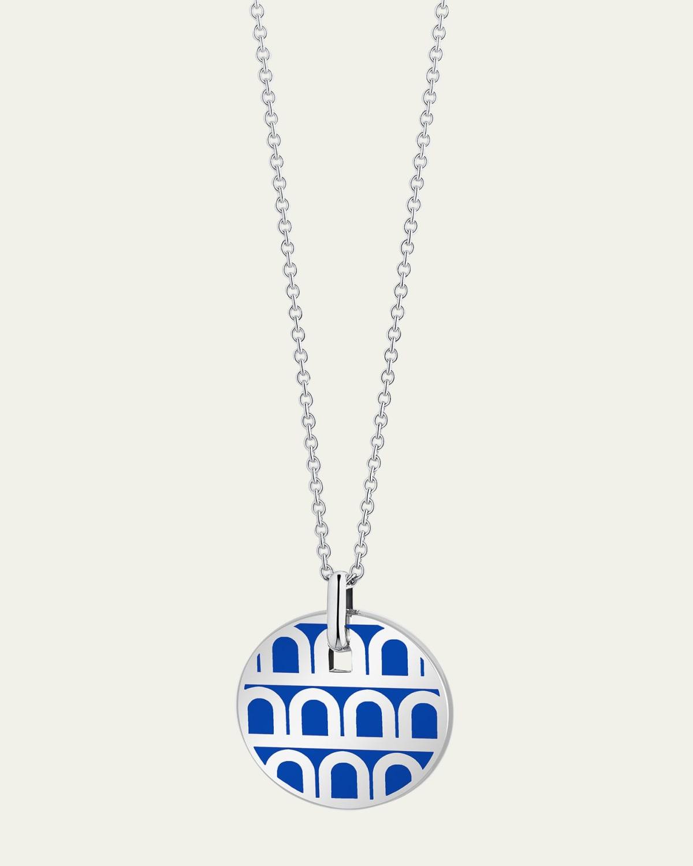 18k White Gold Pendant Necklace