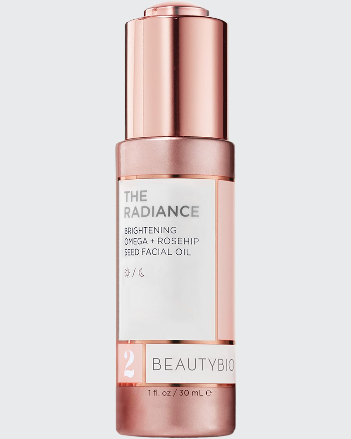 1 oz. The Radiance Brightening Vitamin E + Rosehip Seed Facial Oil
