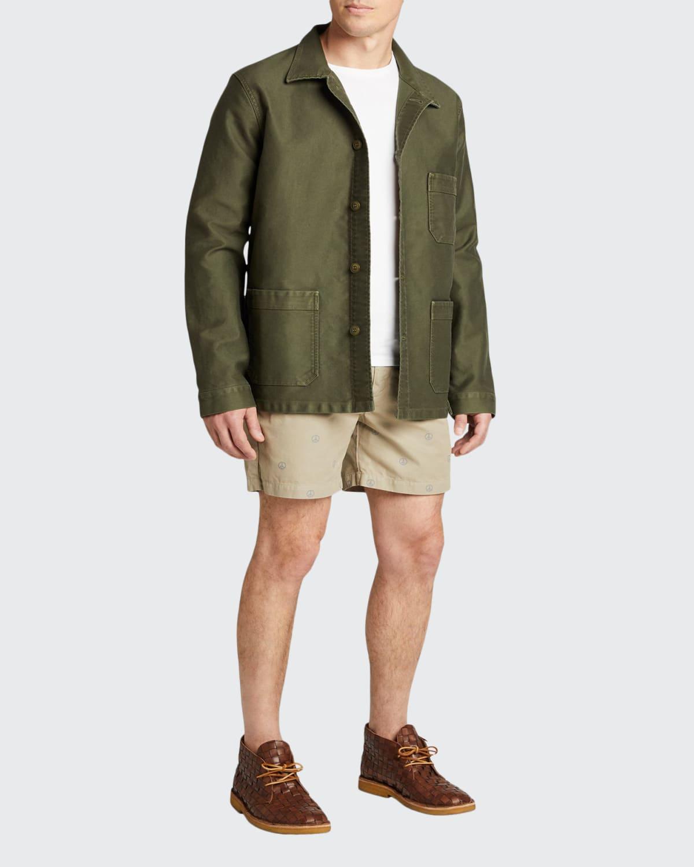 Men's Exclusive Stonewash French Worker Jacket