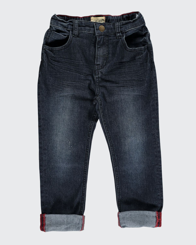 Slim Fit Denim Jeans w/ Children's Book