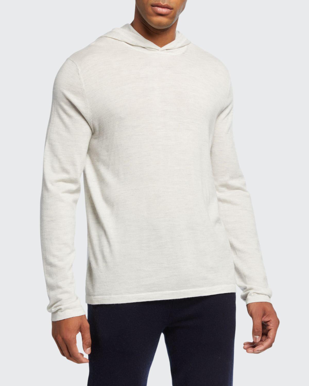 Men's Pullover Wool Hoodie