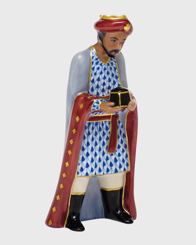Wise Man Balthazar Nativity Figurine