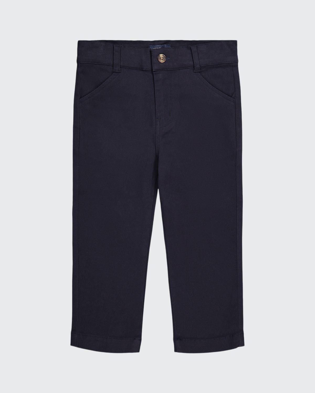Boy's Straight Leg Twill Pants