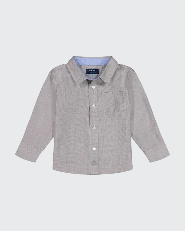 Boy's Cotton Button-Down Shirt