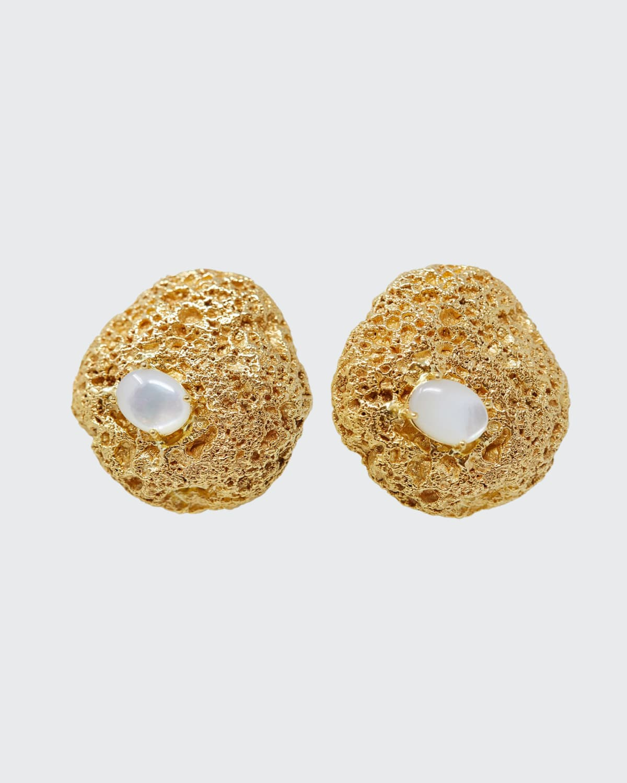 Capris Stone Statement Earrings