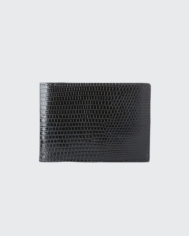 Men's Slim Lizard Bifold Wallet