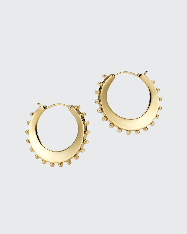 Ancient Power Hoop Earrings