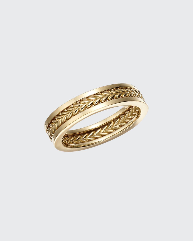18k Gold Smitten Ring