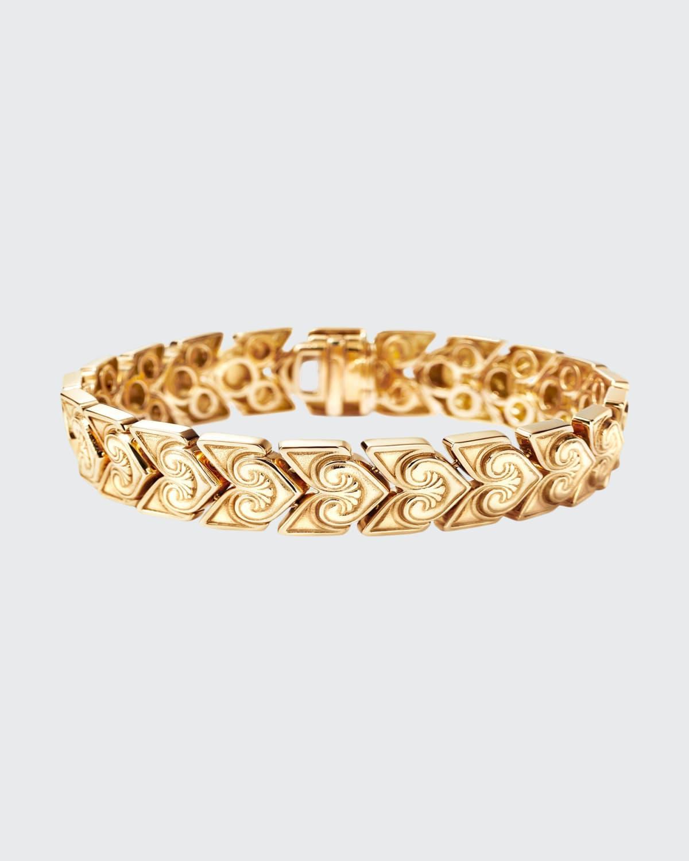Greek Bracelet in 18K Fairmined Ecological Yellow Gold