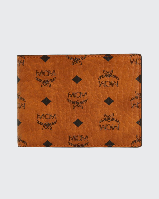Men's Visetos Monogram Flap Wallet