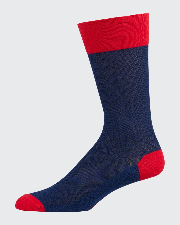Men's Cotton-Blend Crew Socks