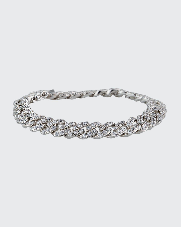 Swag Cubic Zirconia Pave Bracelet