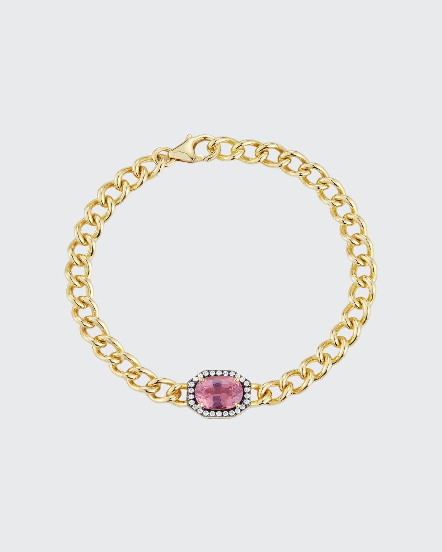 One-of-a-Kind Pink SpinelToujours Bracelet