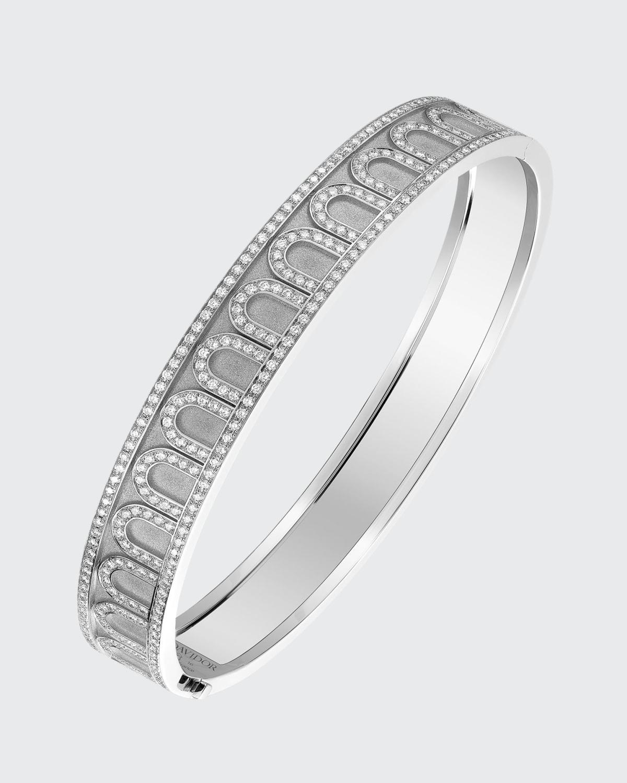 18k White Gold Palais Diamond Bangle