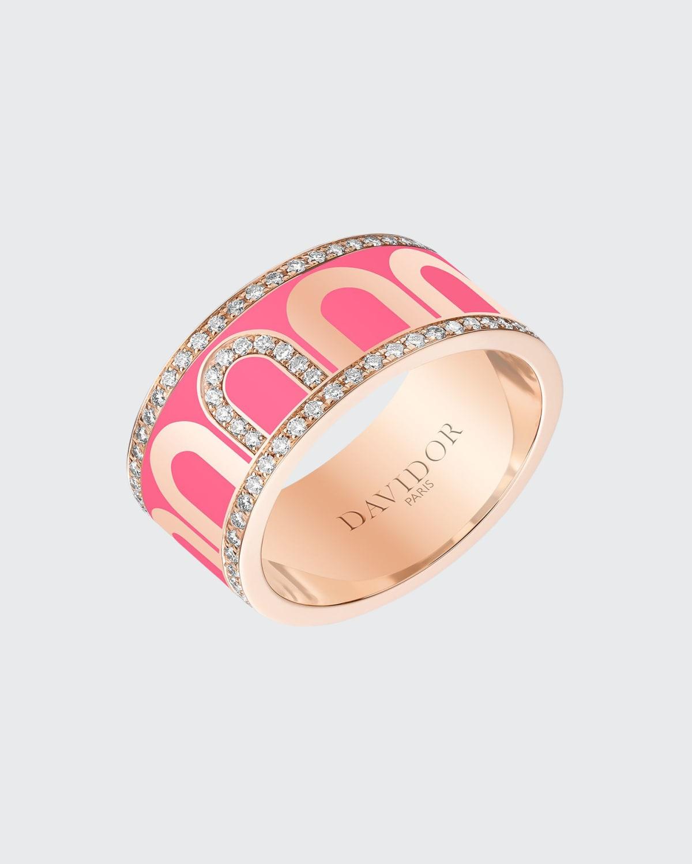 18k Rose Gold Porta Diamond Ring