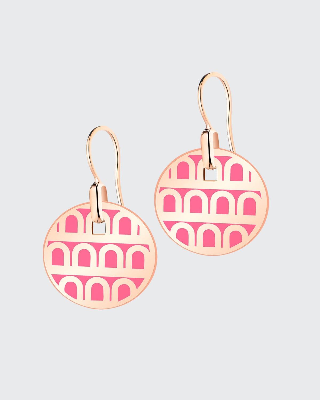 18k Rose Gold Drop Earrings