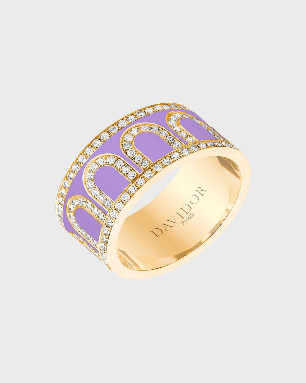 18k Gold Palais Diamond Ring