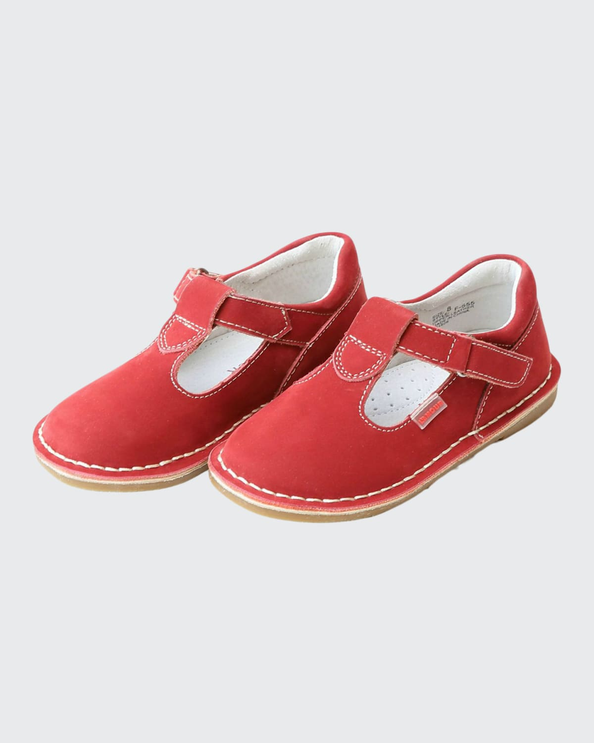 Girl's Alexis Nubuck Mary Jane Shoes