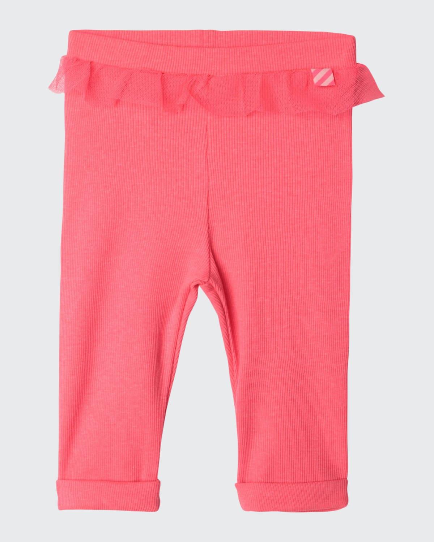 Toddler Girls' Baby Ribbed Leggings