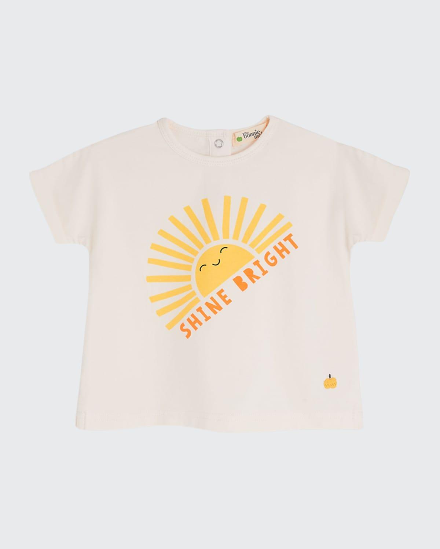 Kid's Percy Shine Bright Sun Printed Shirt