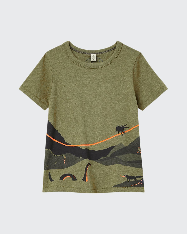 Boy's Ben Lochness Monster Short-Sleeve Shirt